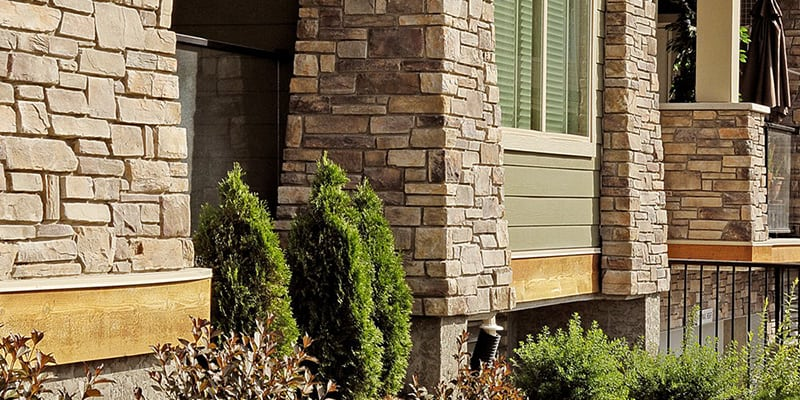 Cultured Stone Country Ledgestone House