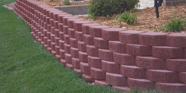 Garden Wall Block Planter