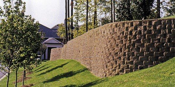 Retaining Wall Allan Block Tall