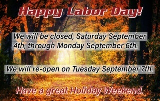 2021 Labor Day Hours
