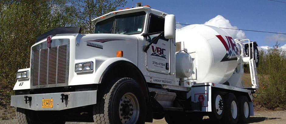 Truck Concrete Kenworth Mixer Wasilla Alaska